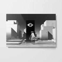 旅行者 | Traveler Metal Print