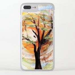 Tree on Tree Clear iPhone Case