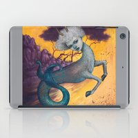 capricorn iPad Cases featuring Capricorn by Artist Andrea