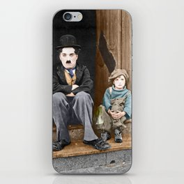 The Kid (1921) - Colorized iPhone Skin