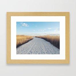 JONES BEACH   NEW YORK Framed Art Print