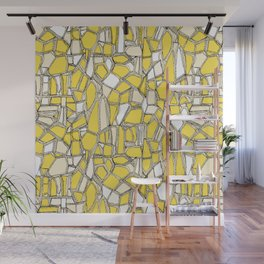 BROKEN POP lemon Wall Mural