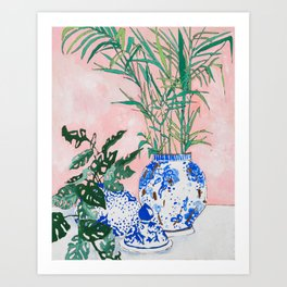 Friendship Plant Art Print