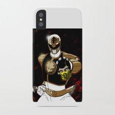 White Ranger Vs. Scorpion Slim Case iPhone X