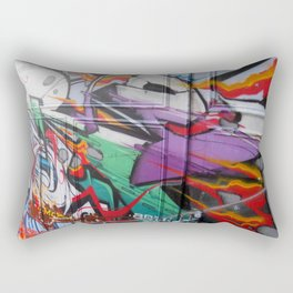 Grafitti Rectangular Pillow