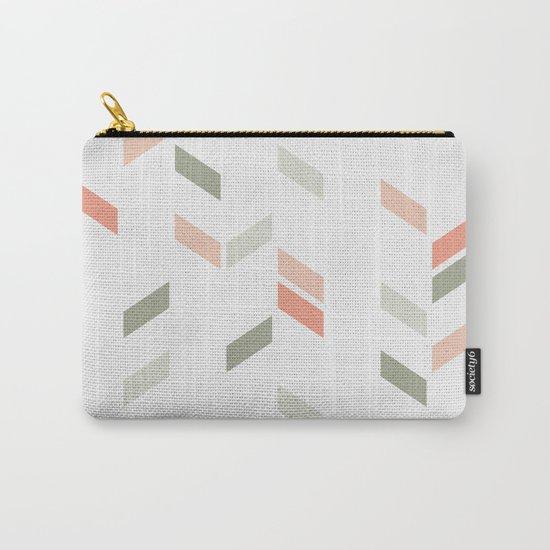 Geometric Confetti (Rose Garden) Carry-All Pouch