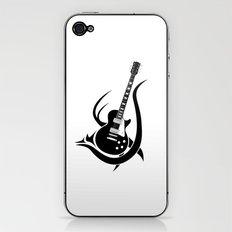 Tribal Guitar iPhone & iPod Skin