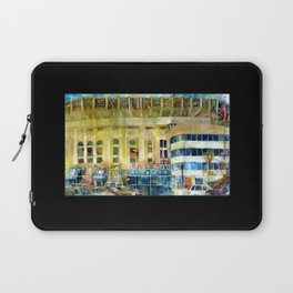 The Old Yankee Stadium Watercolor Laptop Sleeve