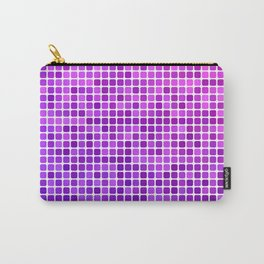 Pink purple mosaic Carry-All Pouch