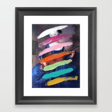 Composition 505 Framed Art Print