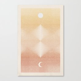 Rising Moon | 2 Canvas Print