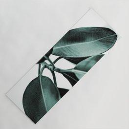 Minimal Rubber Plant Yoga Mat