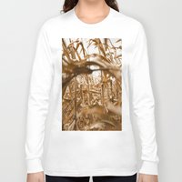 wind Long Sleeve T-shirts featuring Wind by Alley Guscott