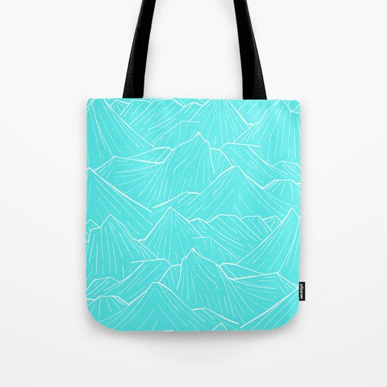 The Cold Blue Tote Bag
