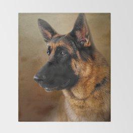 Best in Show - German Shepherd Throw Blanket