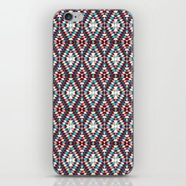 Cool vintag colorful pattern #society6 iPhone Skin