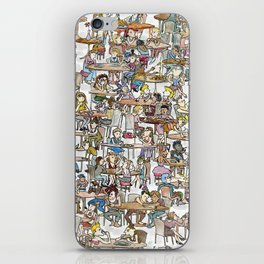 Lunchladies iPhone Skin