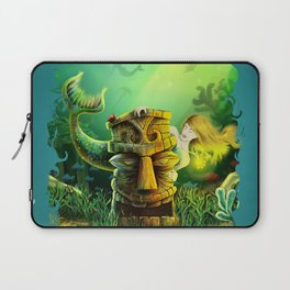Encounter At The Cove Laptop Sleeve