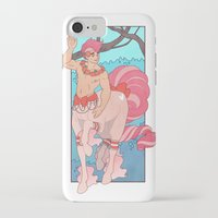 heymonster iPhone & iPod Cases featuring Prettiest Centaur by heymonster