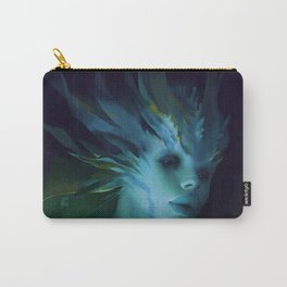 Mermaid portrait Carry-All Pouch