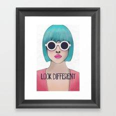 Look different  Framed Art Print