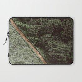 Tropical Amazon Rainforest Textured Trees Aerial Landscape Photo Laptop Sleeve