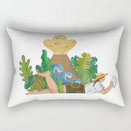 Holidays in paradise Rectangular Pillow