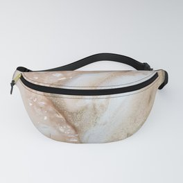 Pink and Gold Art Fanny Pack