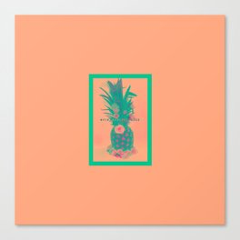 Pineapple Express //Alternate Two Canvas Print