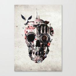 Istanbul Skull Canvas Print