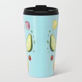 Avocado Mandala Travel Mug
