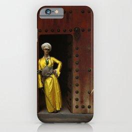 Jean-Leon Gerôme - The Marabou iPhone Case