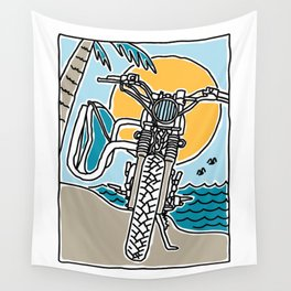 Ride and Surf Wall Tapestry