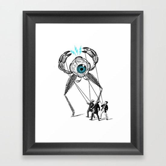 The Taming  Framed Art Print