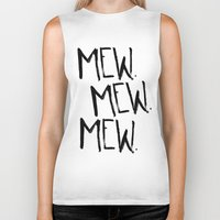 mew Biker Tanks featuring Mew. by Jenna Settle