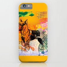 Schnauzer pop art iPhone 6s Slim Case