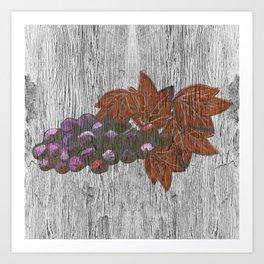 Wine Country Chic Art Print