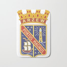 Coat_of_arms_of_Arzew_(French_Algeria) Bath Mat