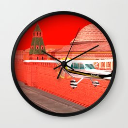 SquaRed: Let's Land It Wall Clock