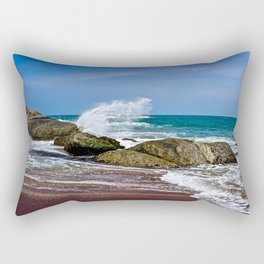 Beaches of Sri Lanka Rectangular Pillow