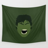 hulk Wall Tapestries featuring hulk by Live It Up