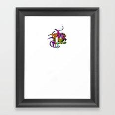E Epsilon Framed Art Print