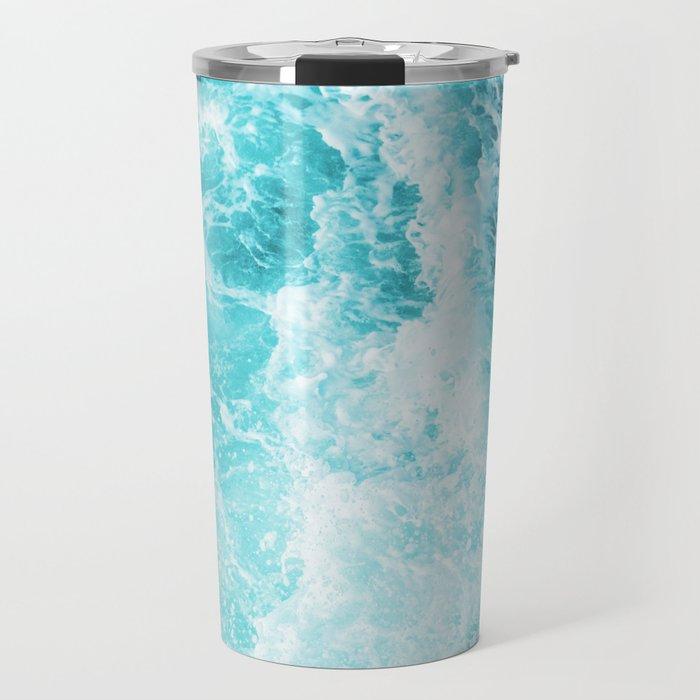 Perfect Sea Waves Travel Mug