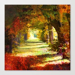 That`s the way, i like him! Canvas Print