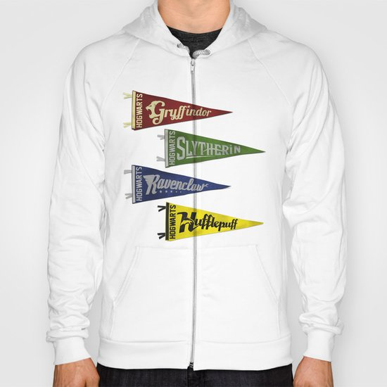 Vintage Hogwart's Pennant Collection Hoody