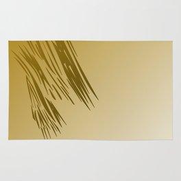 Design exotic gold lines, wild Rug