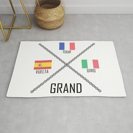 Cycling Grand Tours Rug