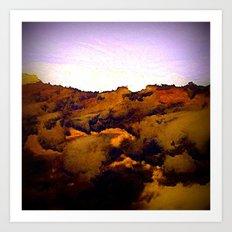 Venutian Cloudscape Art Print