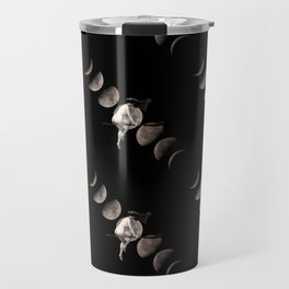 Moon Phases with Vintage Witch Travel Mug