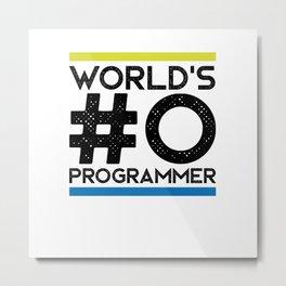 Worlds #0 programmer Metal Print